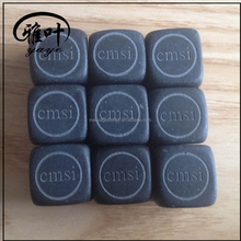 Customized Product Type and Natural Stone Material Ice Cube Rocks for Whisky Lovers