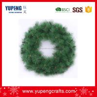 Economical custom design cheap artificial christmas wreath
