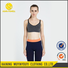 Wholesale Girl Breathable Safety Yoga Bra