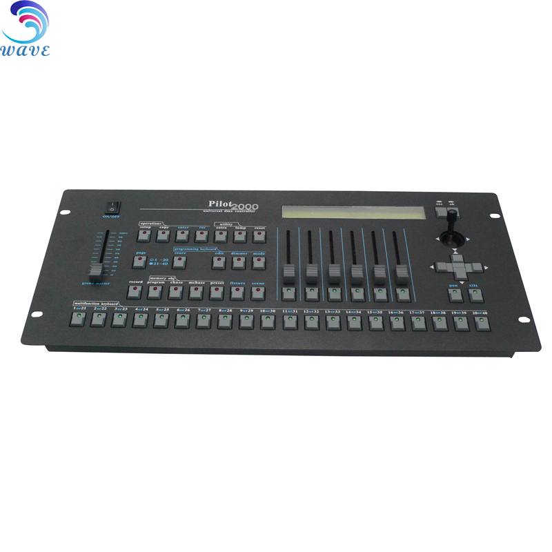 2000 pilot console controller dmx 512 controller for stage