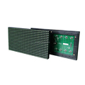 P10 green color led outdoor display billboard outdoor led banner display