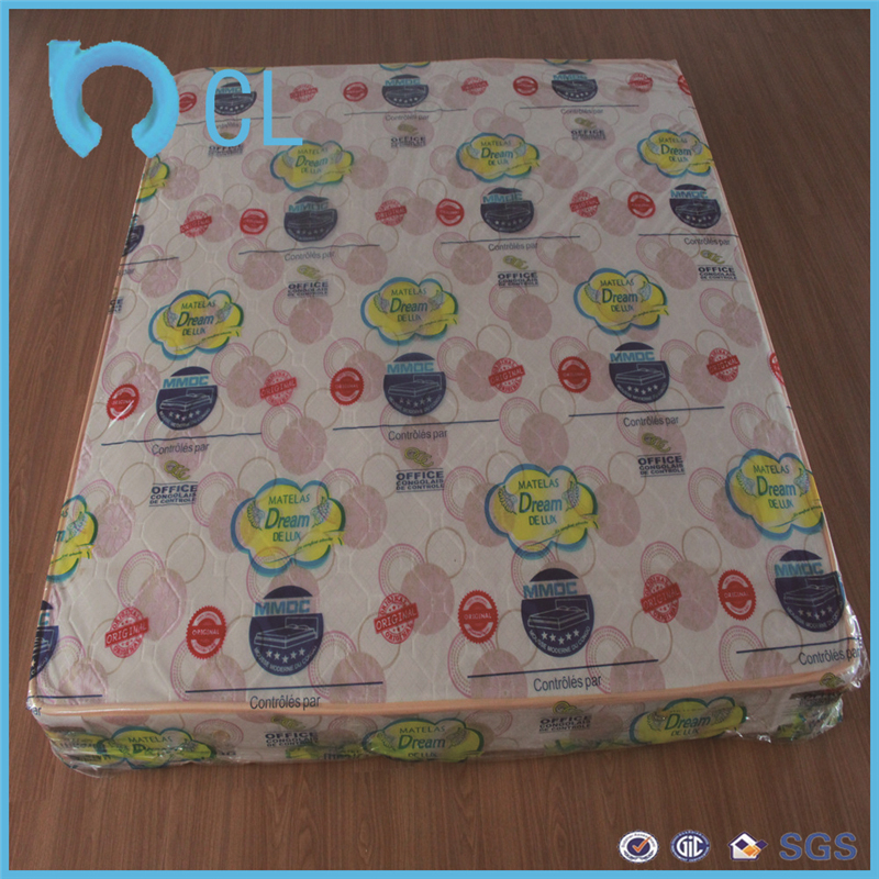 soft plastic pvc printed printing PVC mattress protective film of pvc film for fancy packing