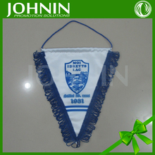 Customized Printed Soccer Club Logo Pennants Hanging Flag