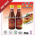 320g bottle hot chili sauce & sweet sour sauce