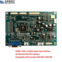 universal LCD controller board with HDMI and VGA