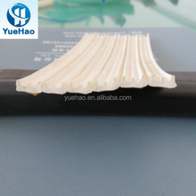 Extrusion sponge EPDM rubber door seals with self adhesive tape / factory supply