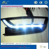 For VW New Passat 2011 - 2015 LED Daytime Running Lamps DRL OEM High Power Waterproof White Electronic Spare Parts