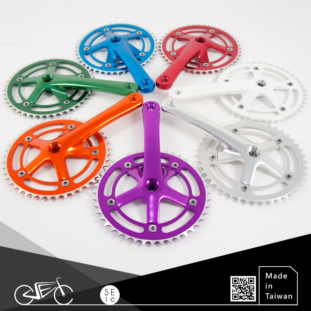 Single speed bike parts fixie crank fixed gear bicycle chainwheels