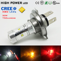 High power LED fog light H4 HB2 9003 CREES XBD chips more than 750LM 360 degree lighting effect 2 years warranty LED light