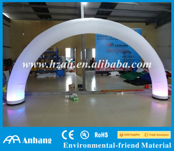 Event Inflatable Arch with LED Light Decoration