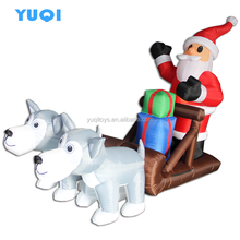 Inflatable Christmas decoration, Hot-selling Lovely Inflatable Santa Claus, Hot Christmas product for sale