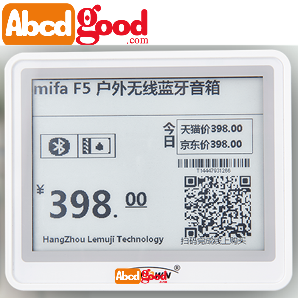 e-ink wireless e-paper price tag