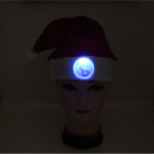 custom led christmas hats for adults