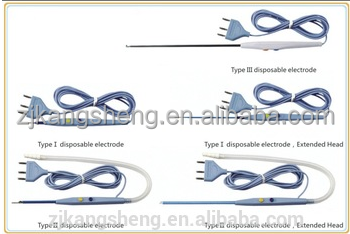 electrosurgical pencil, disposable basis of surgical instruments