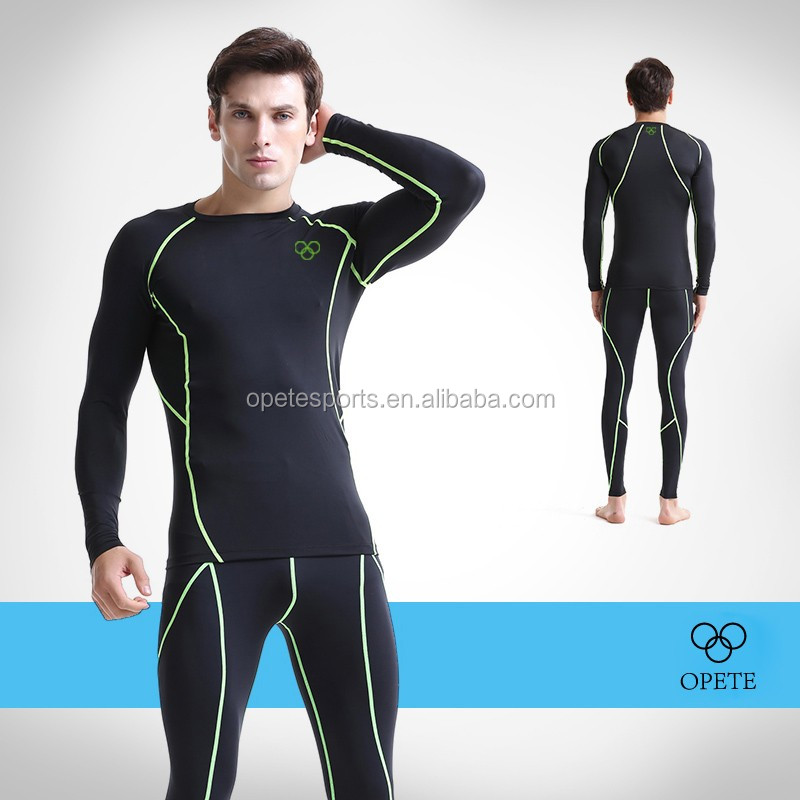 OEM ODM FACTORY high quality compression bodysuit of athletic apparel manufacturers