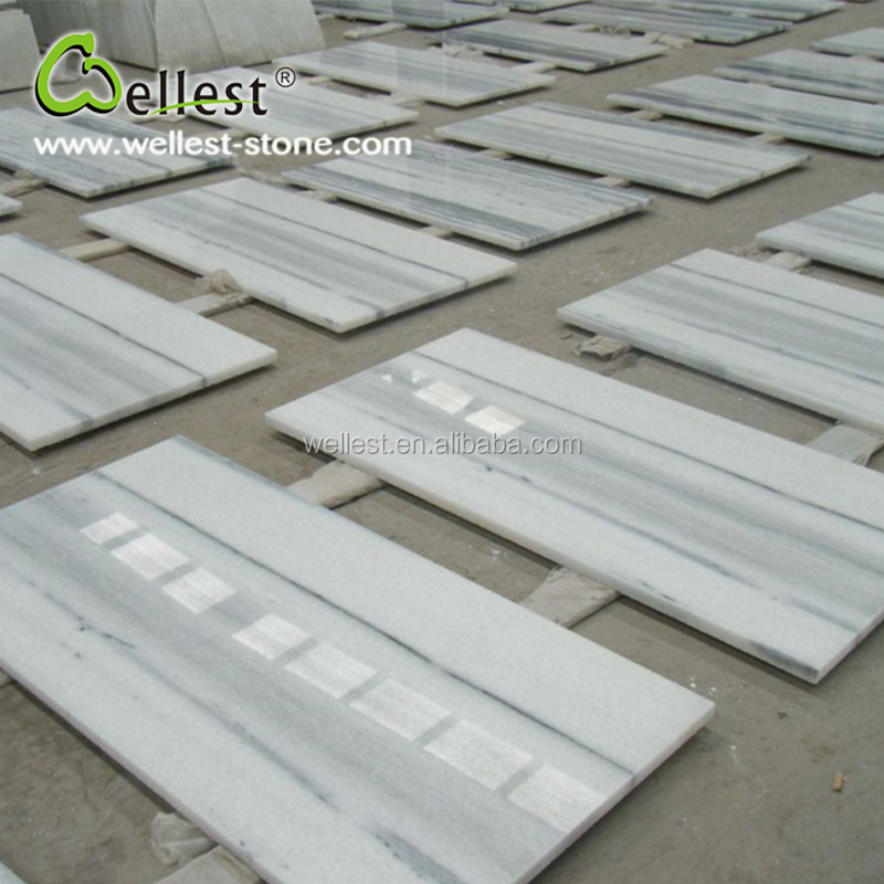 China Hot Selling White Marble Floor Design Pictures