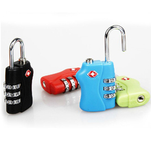 TSA padlock 3 digital Unique Design Manufacturer Customized Design Combination TSA Lock