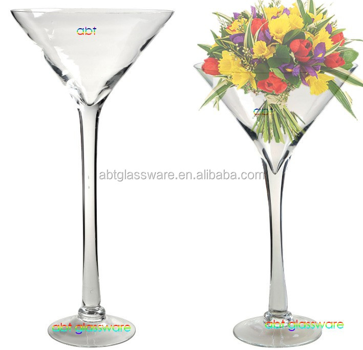 Tall martini glass vases for wedding decoration buy tall for Decoration vase martini