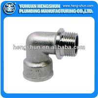 elbow pipe fitting with flange M/F HS-P9015