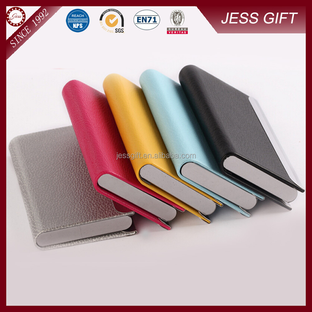 High quality leather business card holder