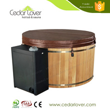 China wholesale One person Sauna Antique Wooden Bath tub