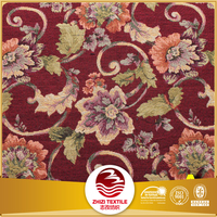 Fabric wholesale Upholstery fabric supplier Fashion Sofa jacquard brocade fabric price