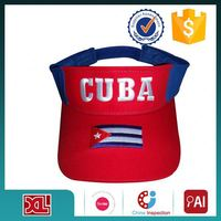 Latest product all kinds of wholesale men's blank visor cap China wholesale