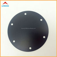 Factory Spray Painted Black Color Stainless Steel Metal Panel,Custom Hollow out Decorative Round Panel