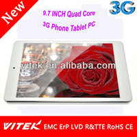 China OEM Tablet 9.7 INCH 3G Tablet