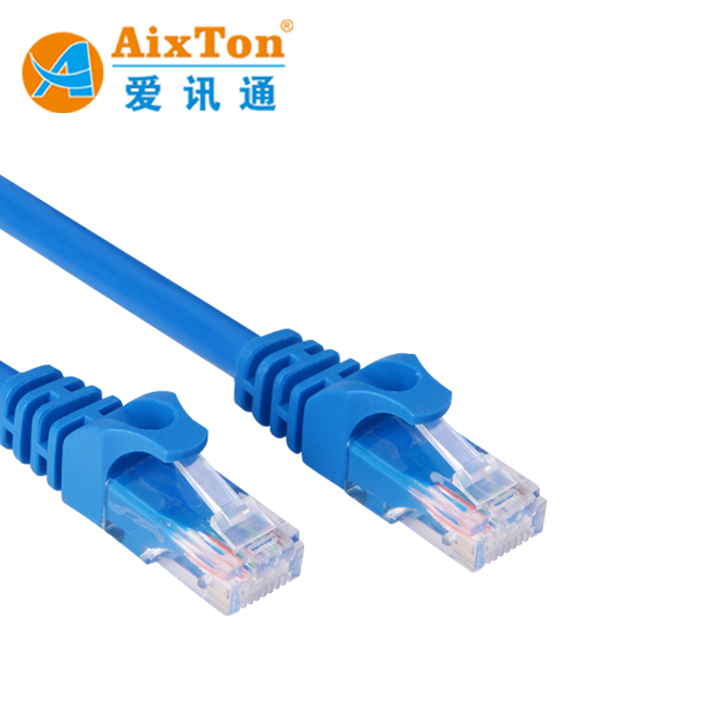 Factory Price 26AWG*4P Ethernet Cat5 Cat 6 cable Cat7 Patch Cord 2m 3m 5m Utp Cable Network jumper Cable