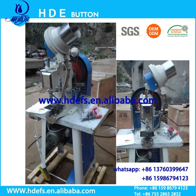 Eyelet Automatic machine for bag, belt, book, leather