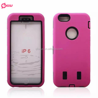 For Apple iPhone 6S Plus Hybrid Hard Case Heavy Duty Silicone Combo Rubber Case Cover Robot case for iphone 6s plus