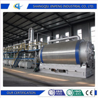 2016 New Integrated Designed Waste Tire Recycling Equipment with High Oil Yield