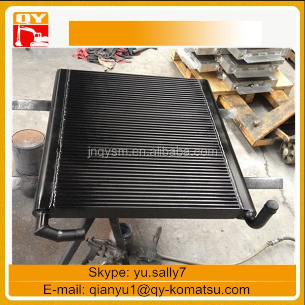 Compact Hydraulic Oil Coolers : Excavator pc hydraulic oil cooler for