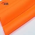 bright orange color knitted fabrics 100% polyester fitness wear fabric
