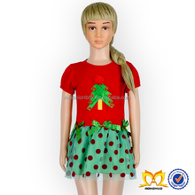 Girls Christmas Tree Dress Kids Frock Designs Pictures Baby Girl Frocks Photo