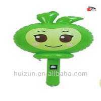 Inflatable PVC Toy in apple stick shape ,PVC Inflatable products,inflatable toys