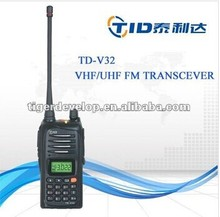 portable two way radio frequency scrambler