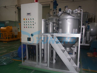 Newest Design Automatic Waste Tyre Pyrolysis Oil Refining Machine with CE&ISO
