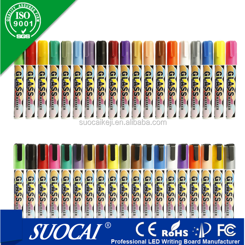 Hot selling 2016 amazon chalk marker refillable 8 pack