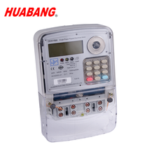 SABS STS international standard HUABANG Africa Single phase keypad prepaid electricity meter