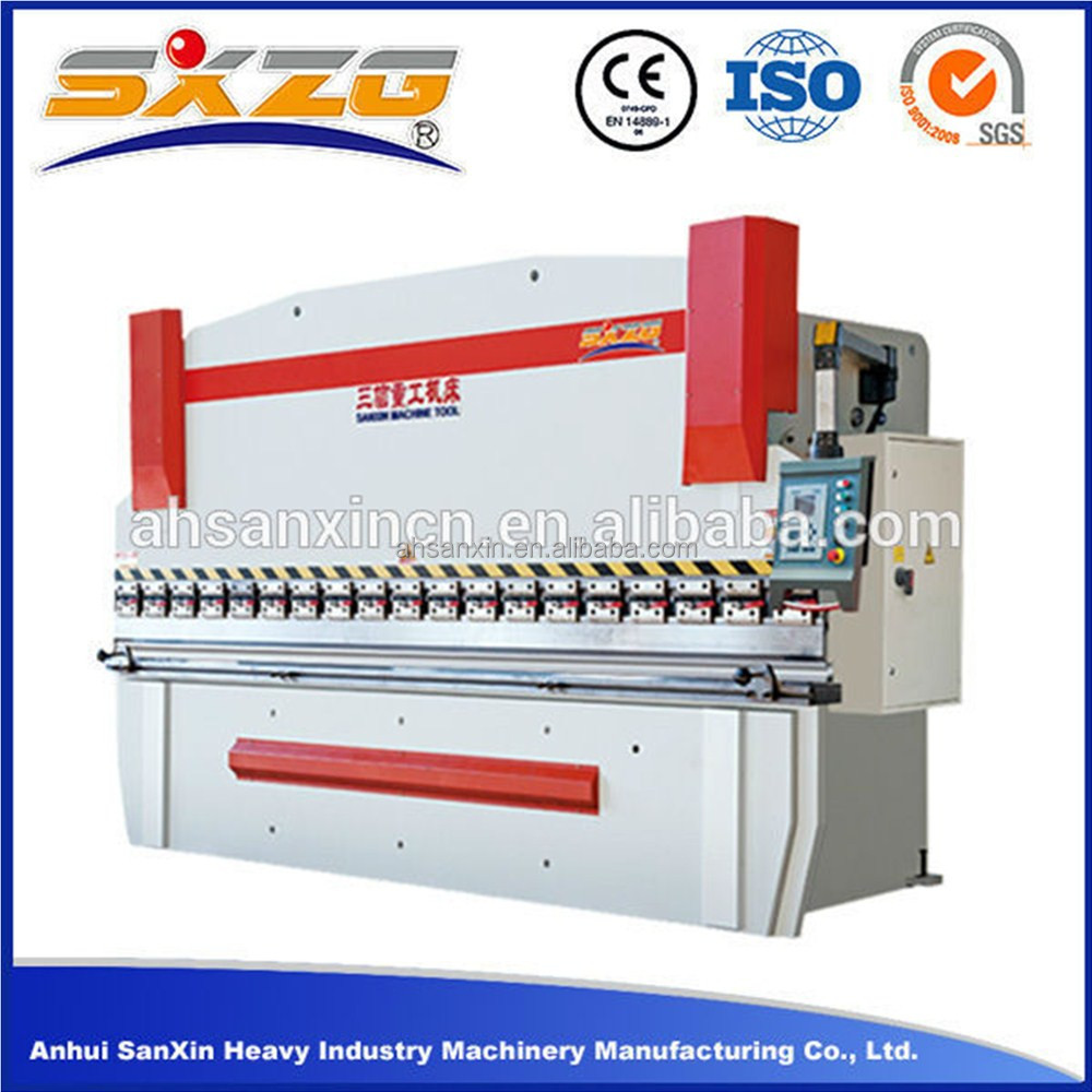 2016 WC67Y 80T 100T 120Ton hydraulic brake press , bending machine sheet metal for sale