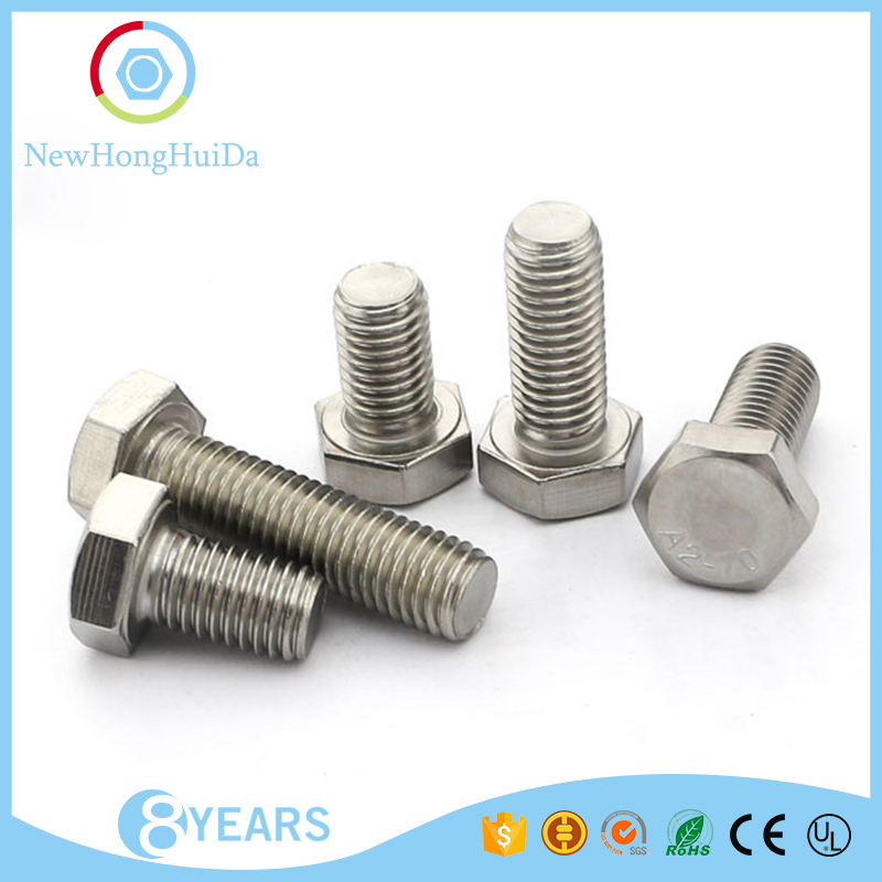 Volume Supply <strong>M10</strong> sizes stainless steel hexagon head machine screw
