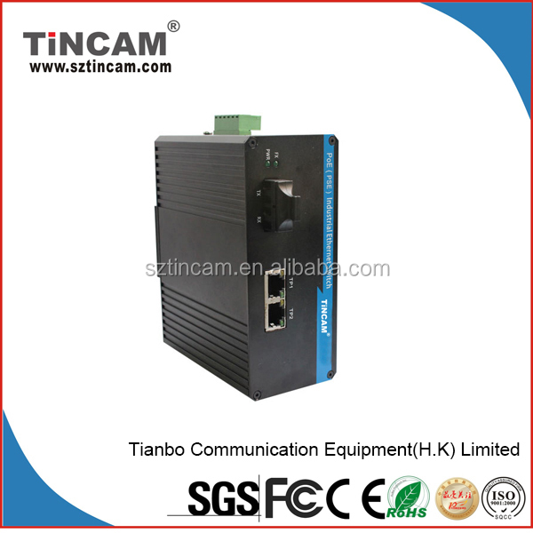 Nice Price Over Ethernet Industrial 4 Port Poe Switch 10/100m