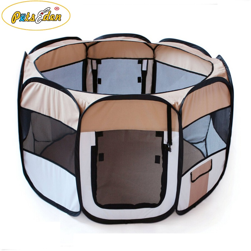 foldable low price Pet Exercise Playpen Dog Cat Soft crate Tent funny house