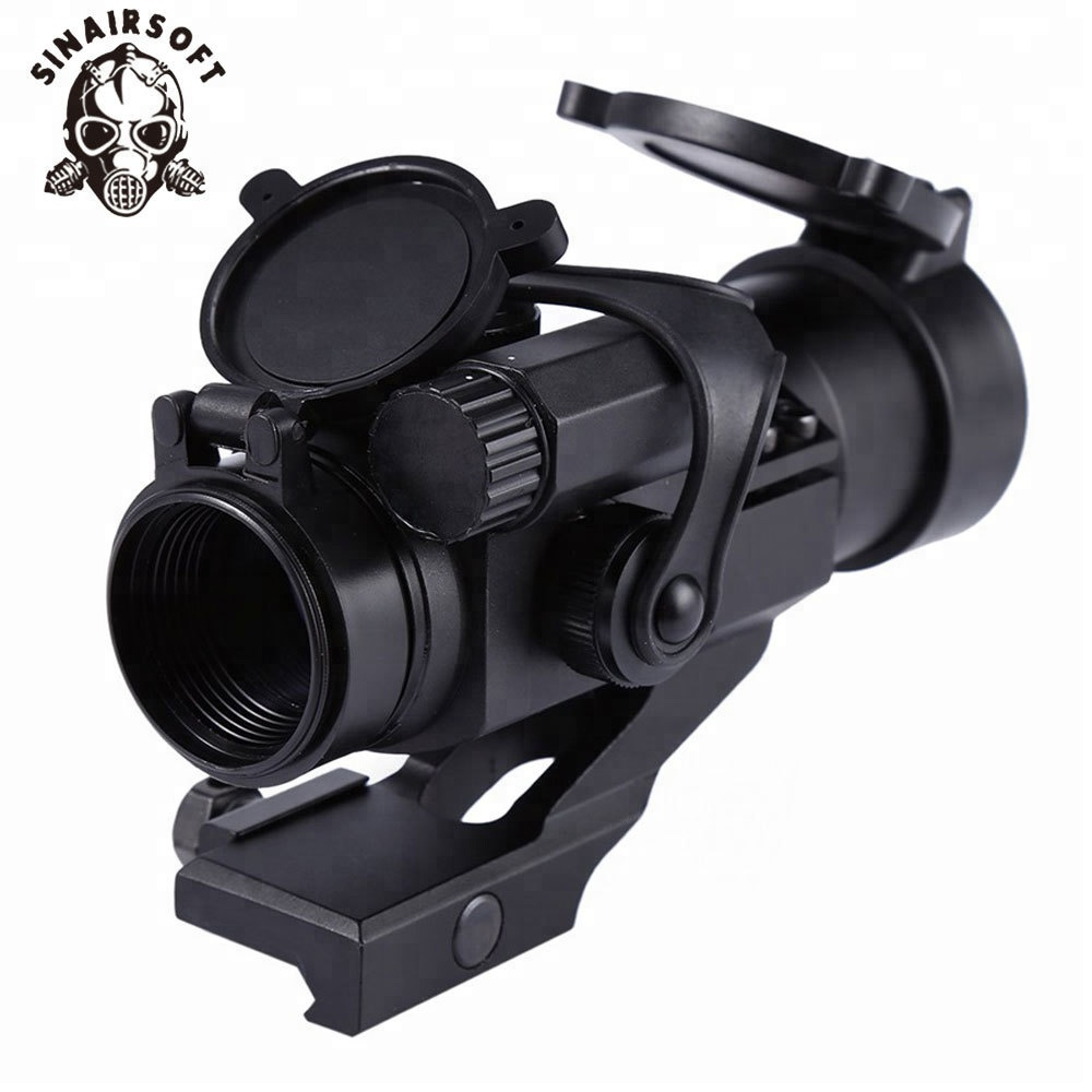 Hunting Rifle Adjustable Scopes 32mm M2 Sighting Telescope Laser Gun Sight with Reflex Red Green Dot Scope For Picatinny Rail