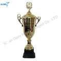 Perpetual Gold Plated Metal Trophy Cup for Sports