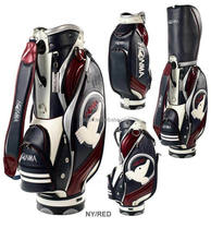 new design custom made pu golf bag