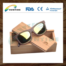 China Professional Good Quality New Design wooden sunglasses case and Wooden case