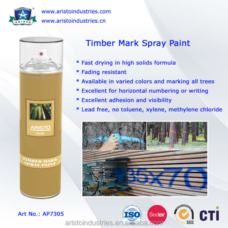 Aristo Timber Mark Spray Paint / Marking Wood Paint